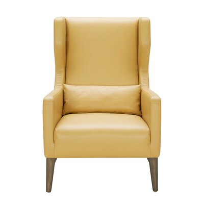 5West Messina Chair Upholstery: Mustard