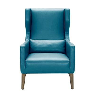 5West Messina Chair Upholstery: Turquoise