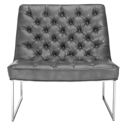 Club Toro Tufted Convertible Chair Upholstery: Grey Nobility