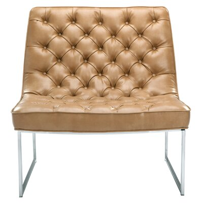 Club Toro Tufted Convertible Chair Upholstery: Peanut Nobility