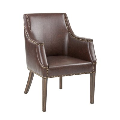 5West Calabria Armchair Upholstery: Ash Grey