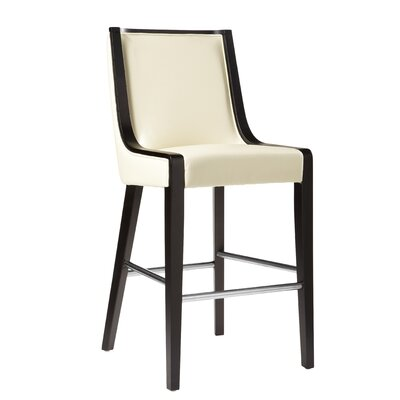 Newport 30 Bar Stool Seat Height: Bar (30), Color: Cream