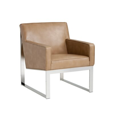 Club Sheldon Armchair Upholstery: Peanut