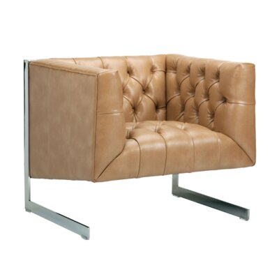 Club Viper Arm Chair Upholstery: Peanut