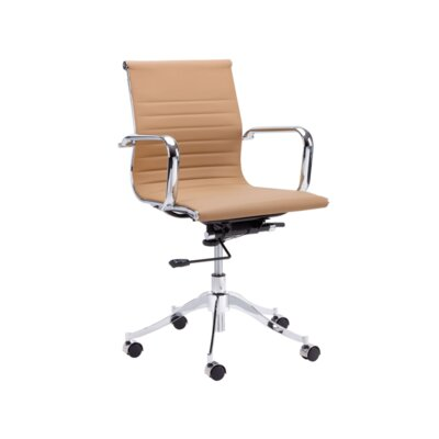 Tyler Mid-Back Office Chair Color: Black Product Picture 201