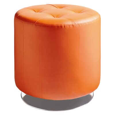 Urban Unity Domani Swivel Ottoman Small Upholstery: Orange