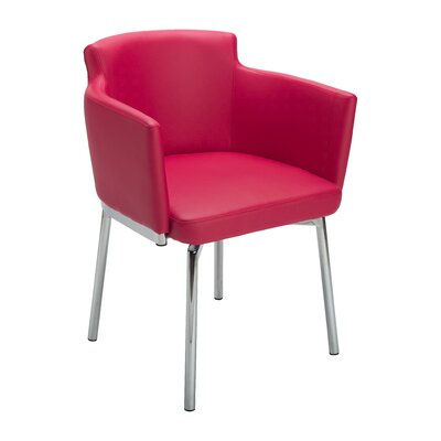 Ikon Garcia Armchair Upholstery: Red