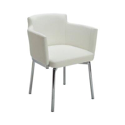 Ikon Garcia Armchair Upholstery: White