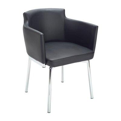 Ikon Garcia Armchair Upholstery: Black