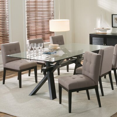 Broderick Dining Table Table Finish: Espresso