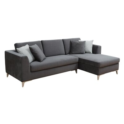 Sectional Upholstery: Fossil Gray