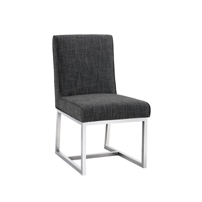 Miller Parsons Chair (Set of 2) Upholstery: Quarry