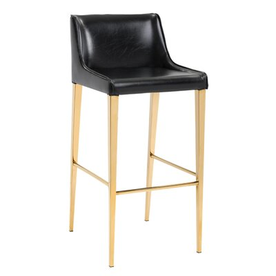 Lawrence Bar Stool with Cushion