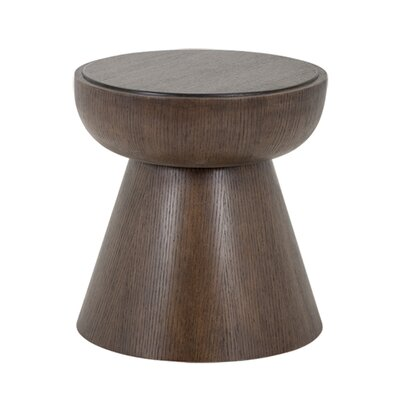 Vista End Table Color: Brown