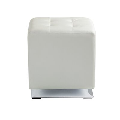 Marco Cube Ottoman Upholstery: Snow
