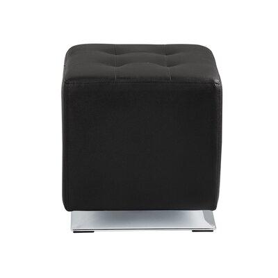 Marco Cube Ottoman Upholstery: Onyx
