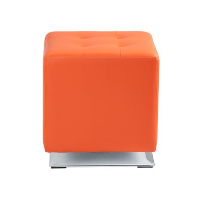 Marco Swivel Ottoman Upholstery: Orange