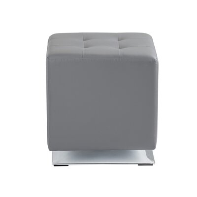 Marco Cube Ottoman Upholstery: Graphite