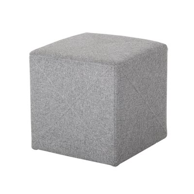 Jackson Ottoman Upholstery: Light Gray