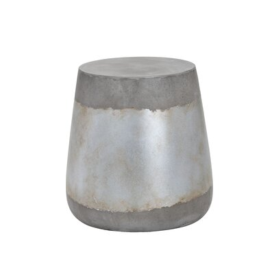 Aries End Table Color: Silver
