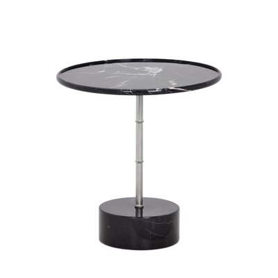 Milano End Table Color: Black