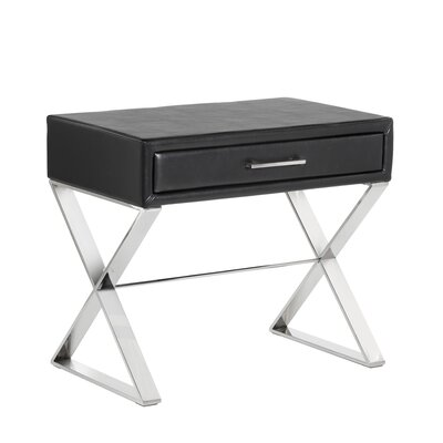 Club Casa End Table Finish: White