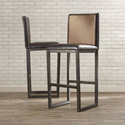 Porto 26 Bar Stool with Cushion (Set of 2)