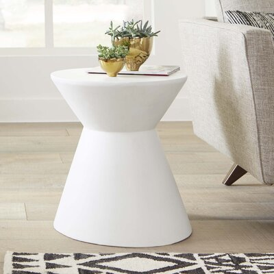 Mixt Astley End Table Finish: White