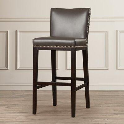 Marten 30 Barstool Upholstery: Grey