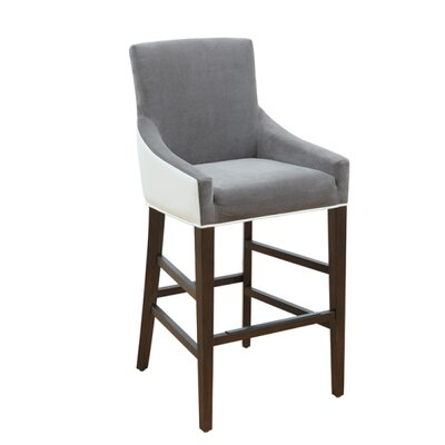 5West Vincent 26 inch Bar Stool with Cushion