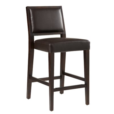 5West 30 Bar Stool with Cushion Color: Brown