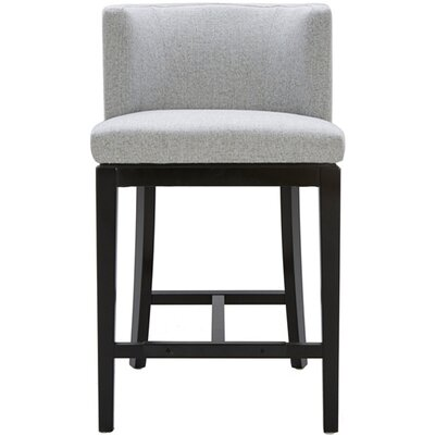 Hayden 26 Bar Stool with Cushion Upholstery: Marble