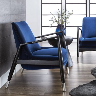 Frisco Armchair Upholstery: Giotto Navy