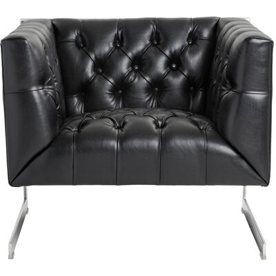 Club Viper Armchair Upholstery: Black