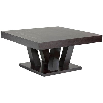 Ikon Madero Coffee Table Color: Dark Espresso
