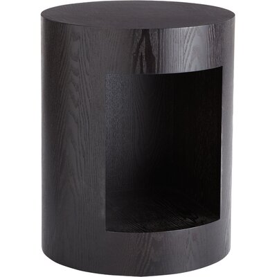 Ikon Beacon End Table Color: Brown