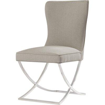 Rivoli Parsons Chair Upholstery: Navy