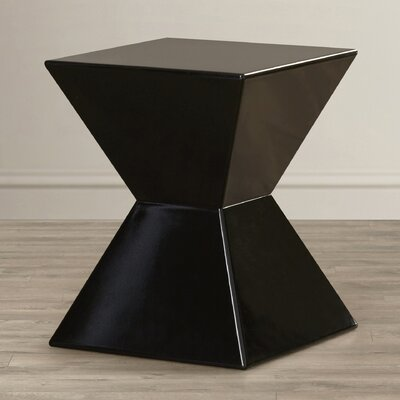 Rocco Urban Unity End Table Color: Black