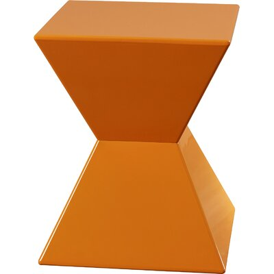 Urban Unity Rocco End Table Finish: Orange