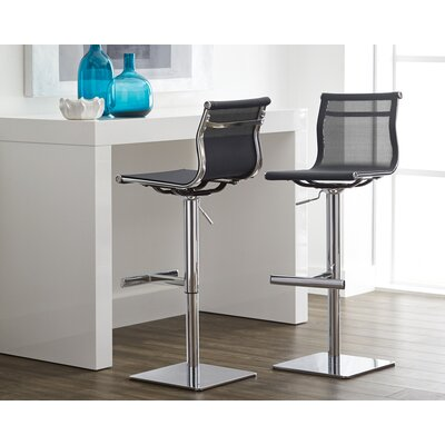 Urban Unity Travis Adjustable Height Bar Stool