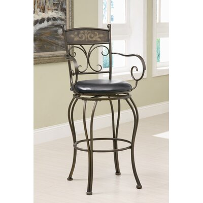 Hickory 29 Swivel Bar Stool