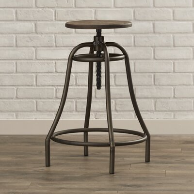 Urban Unity Collette Adjustable Height Swivel Bar Stool