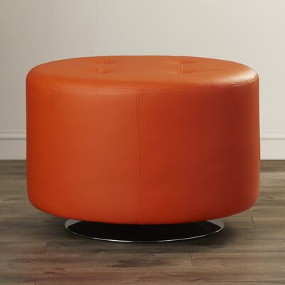 Domani Swivel Ottoman Upholstery: Onyx