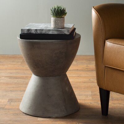 MIXT Logan End Table Finish: Anthracite Grey