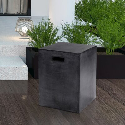 Mixt Castor End Table Color: Black