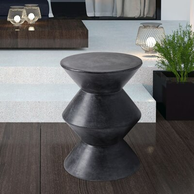 Mixt Union End Table Color: Black