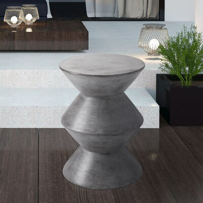 Mixt Union End Table Color: Grey