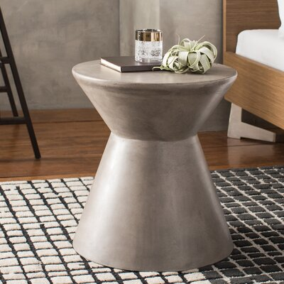 Mixt Astley End Table Color: Anthracite Grey