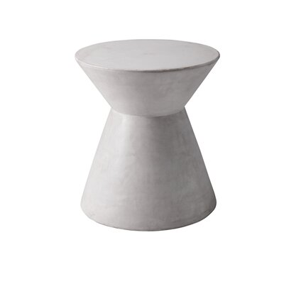 Mixt Astley End Table Color: White