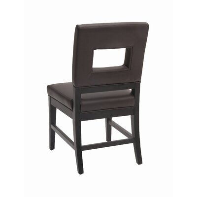Low Price Sunpan Modern Element Side Chair (Set of 2) Upholstery: Brown